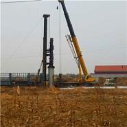 10KV电力钢杆基础图片