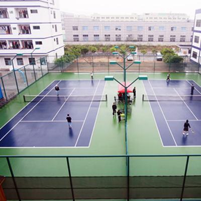 弹性丙烯酸球场,运动场地地坪