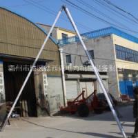 10米水泥杆立杆机12米三脚架立杆机15米铝合金三脚立杆机