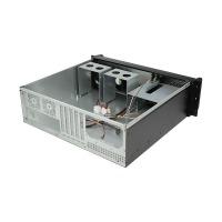 迈肯思3u机箱工控机箱3u服务器机箱铝面板3个光驱位8个硬盘位DVR