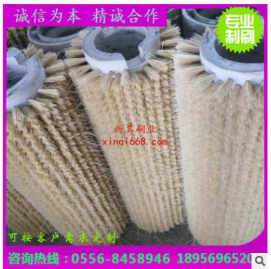 滁州市抛光毛刷价格 剑麻砂布抛光毛刷辊价格 毛刷生产厂家
