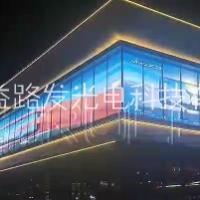 led顯示屏P3.91透明屏 图片|效果图