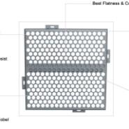 穿孔铝单板厂家图片
