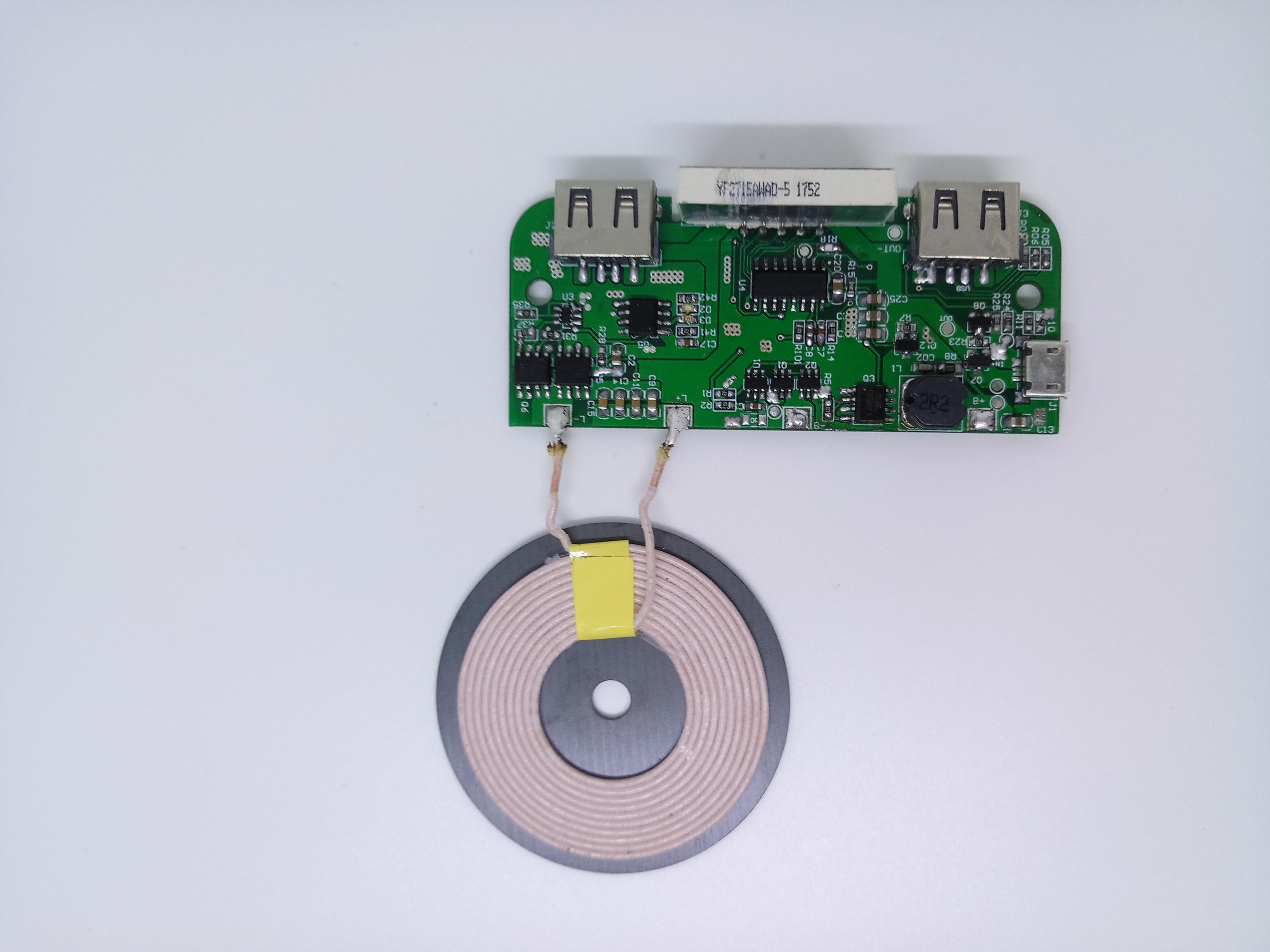 大数码屏移动电源无线充-生产厂家-报价-批发
