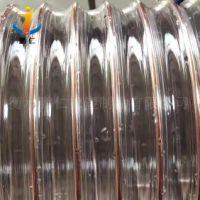 -35度PU钢粉尘真空软管厂家批发 PU真空钢丝软管