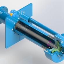 耐磨地坑泵--- HL系列立式渣浆泵