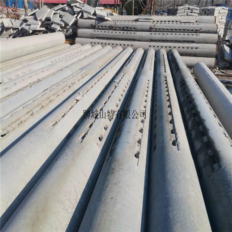 广东 400钢混水泥滤水管 桥式圆孔滤水钢管厂家直销