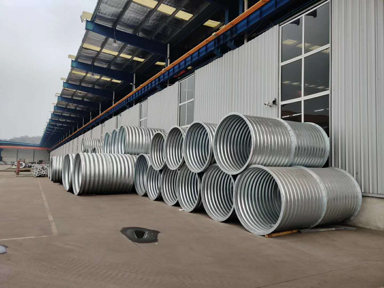 钢波纹管涵价格 云南钢制波纹管厂家 钢波纹管涵定做 镀锌钢波纹管现货