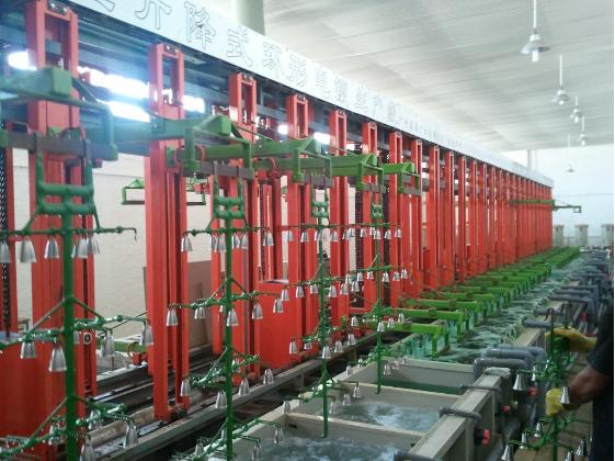 垂直升降线 自动电镀线 电镀自动  电镀线