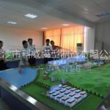 供应长沙科威KWDL16武汉工程大学专家教授观看我司制作的电力系统沙盘模型 大型电力系统流程装置模拟演示沙盘