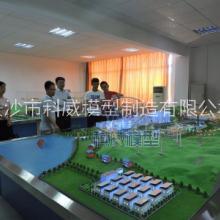 供应长沙科威KWDL16武汉工程大学专家教授观看我司制作的电力系统沙盘模型 大型电力系统流程装置模拟演示沙盘图片