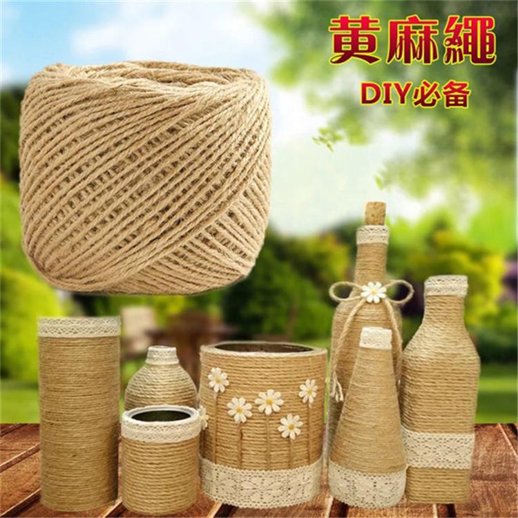 出售 本色黄麻线 捆绑绳 包装捆绑绳 久满多绳业 麻线厂家