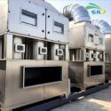 废气处理设备不锈钢高压喷淋塔图片
