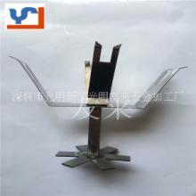 自动线流水线地轨线平板线底座方通喷涂喷油喷漆夹具弹片治具挂具UV电镀ZS-2006