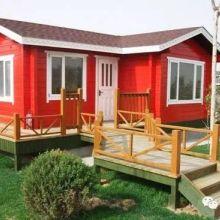 活动板房定制-防腐木小木屋造价-小木屋防腐木造价-农庄木屋价格图片